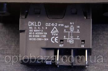 Кнопка Вкл/Выкл 4 клеммы с крышкой для бетономешалки, фото 3