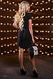 Красивое женское платье 2517 черный, фото 5