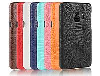 Чехол накладка бампер Croco для Samsung Galaxy S9 (8 цветов)