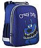 """Ранец ортопедический каркасный """"YES"""" Crazy dog H-12, 554621"""