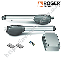 Комплект автоматики Roger для распашных ворот (створка до 2,5 м) KIT R20/320