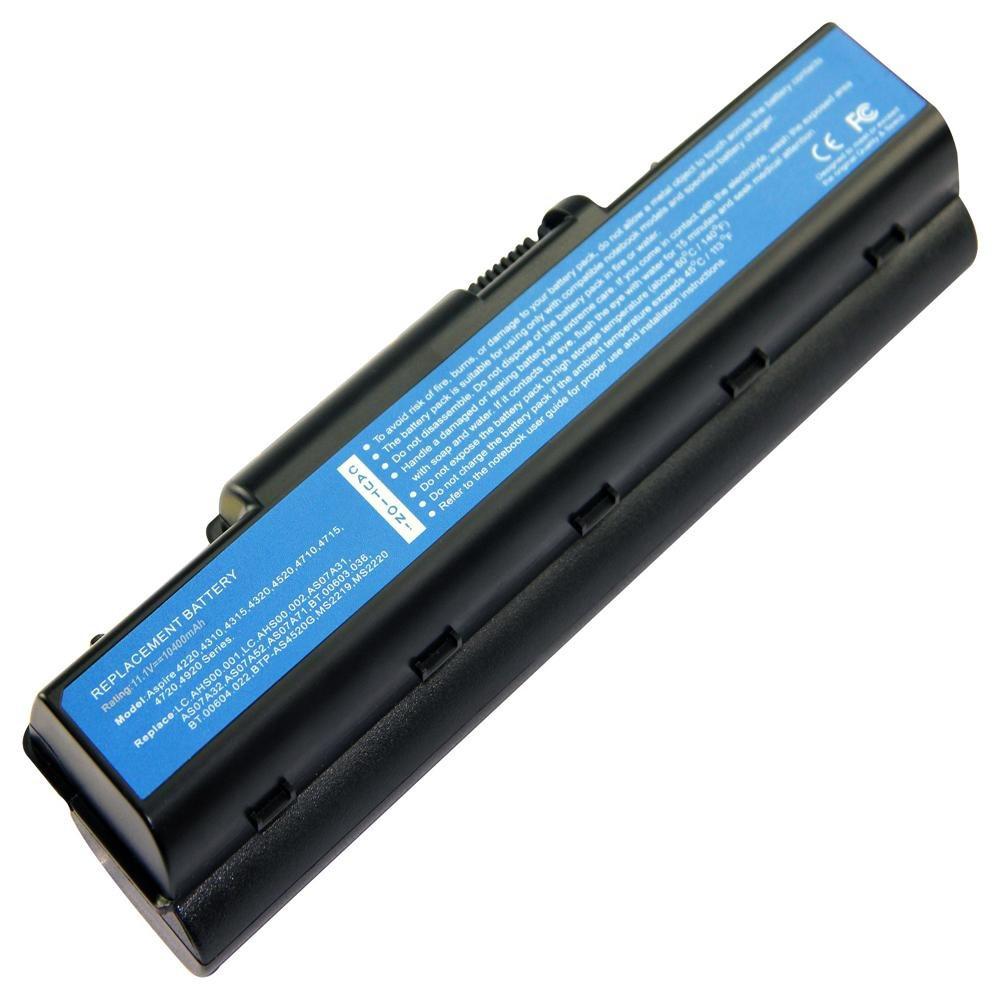 Аккумулятор к ноутбуку Acer AS07A31 10.8V 10400mAh