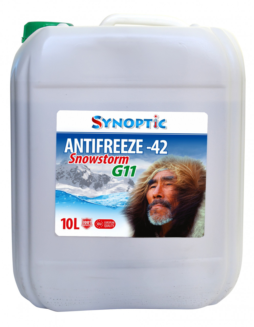 Антифриз Synoptik -42 зеленый 10л/10,45кг