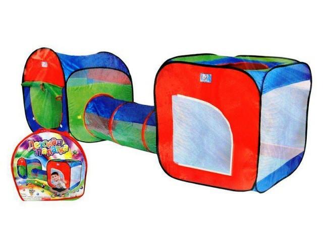 Игровая детская палатка с туннелем (999-120, 999-147)