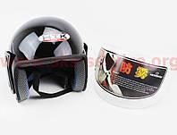 Шлем открытый HK-215 - ЧЕРНЫЙ