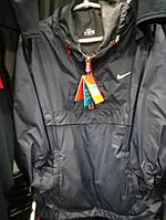 Мужской анорак Nike копия, ветровка анорак Nike, спортивные куртки Найк копия