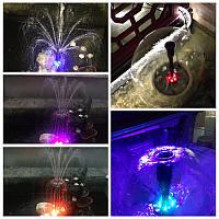 Подсветка фонтана и бассейна герметичная в комплекте с блоком питания 50 см длинной 16 цветов контроллер