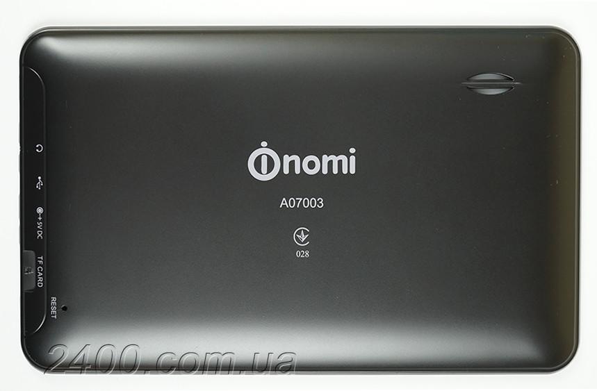 Крышка задняя (деталь корпуса) для планшета Nomi A07003