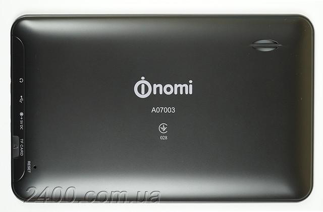 Задняя панель планшета Номи А07003