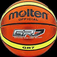 Баскетбольный мяч Molten GR7 /TI, фото 1