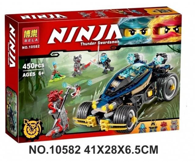 Конструктор Bela 10582 Ninja ниндзя Ninjago ниндзяго Самурай VXL 450 дет