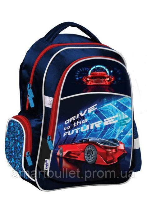 66f8fafead71 Рюкзак школьный ортопедический KITE Super car K18-510S-2, цена 793 грн.,  купить в Харькове — Prom.ua (ID#654758129)