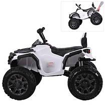 Детский квадроцикл M 3156 EBLR белый, фото 3