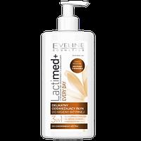 Гель для інтимної гігієни Eveline Lacta Med 3 в 1 Молочна кислота + екстракт ромашки 250 мл