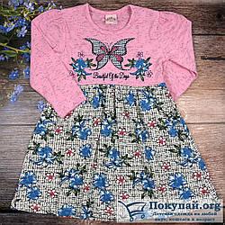 Платье для девочки Размеры: 3,4,5,6 лет (6101-3)