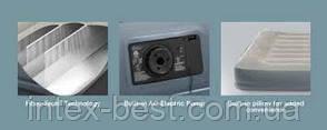 Intex 64116 надувная кровать Twin 99x191x30см, фото 2