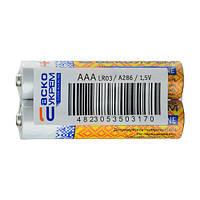 Батарейка АСКОУКРЕМ Super Alkaline AАА (shrink 2)