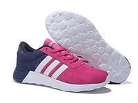 Кроссовки Adidas NEO Deep Blue White Rose, фото 1