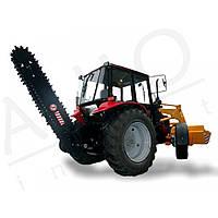 Траншеекопатель для тракторов МТЗ, фото 1