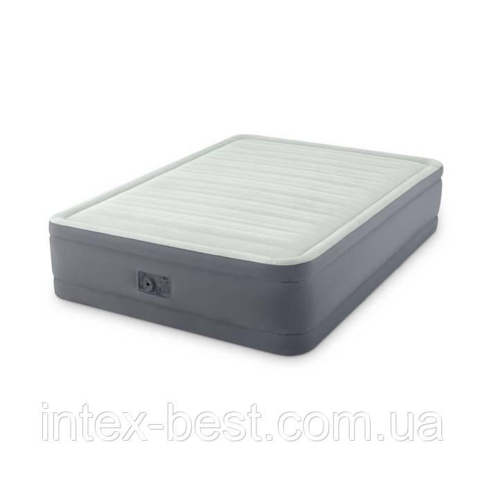 Intex 64904 надувная кровать Premium Air Bed 137x191x46см
