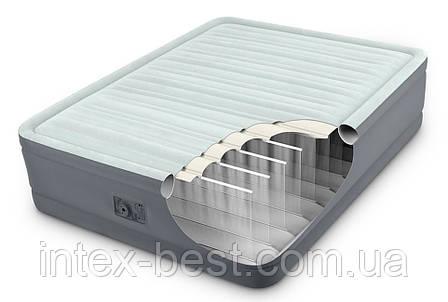 Intex 64904 надувная кровать Premium Air Bed 137x191x46см, фото 2