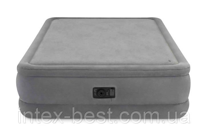 Intex 64470 надувная кровать Foam Top Bed 152x203x51см, фото 2