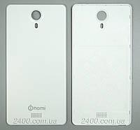 Крышка задняя для смартфона Nomi i501 белая