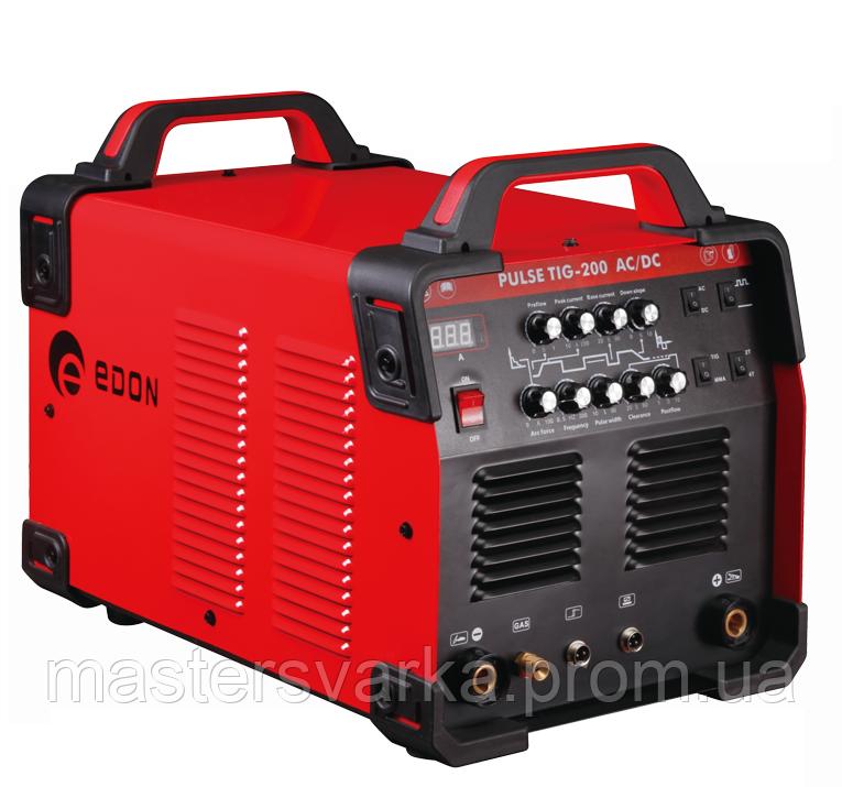 Аргонодуговой сварочный аппарат EDON PULSE TIG 200P AC DC