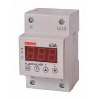 Реле контроля напряжения E.NEXT e.control.v09 однофазное 63А c индикацией