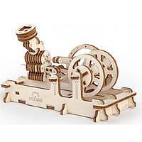 Деревянная сборная механическая 3D модель Ugears Пневматический двигатель 70009