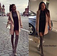 Пальто на подкладке женское НВ163