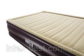Bestway 67597 надувная кровать Cornerstone Airbed 203х152х43см, фото 2