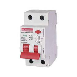 Выключатель дифференциального тока E.NEXT e.elcb.stand.2.C25.30, 2р, 25А, C, 30мА с разделенной рукояткой