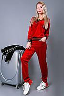 Женский спортивный костюм велюровый, фото 1