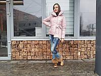 Женская куртка на завязках тая (пуховик), фото 1