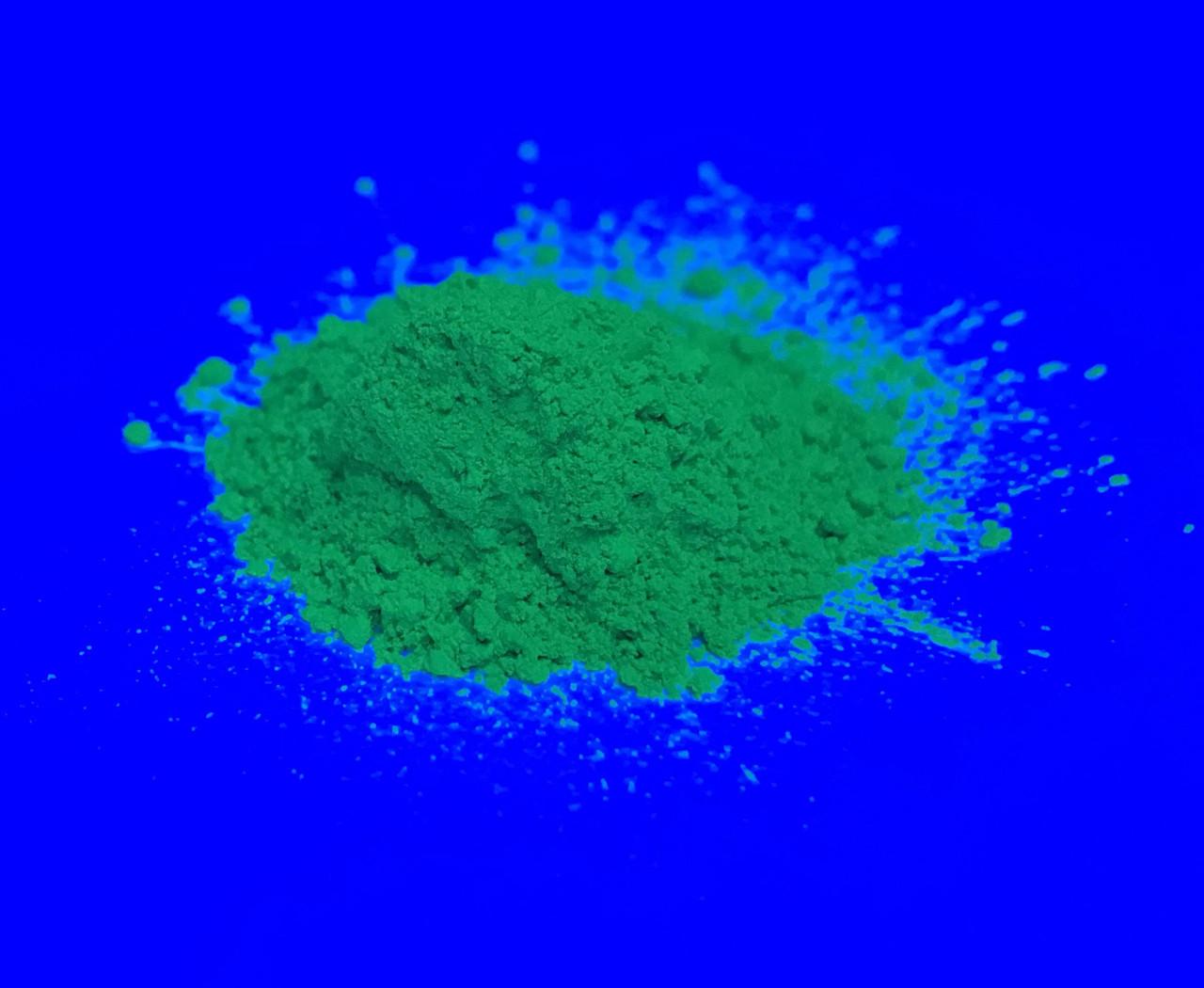 Пигмент флуоресцентный Зеленый GlowColors