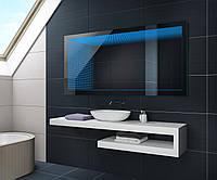 Зеркало для ванной комнаты  LED 3D 80x60