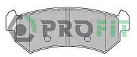 Колодки тормозные задние Chevrolet Lacetti, Nubira 1.6/1.8 Profit