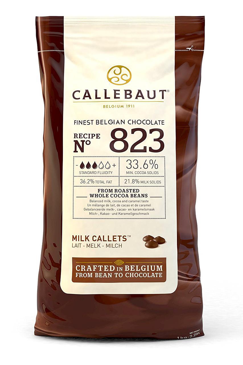 Barry Callebaut Select 823-Е4-U71 Молочний шоколад з натуральною ваніллю сорту Bourbon ( 8 x 2.5 кг )