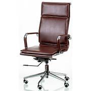 Кресло руководителя Special4You Solano 4 artleather brown (Е5227)