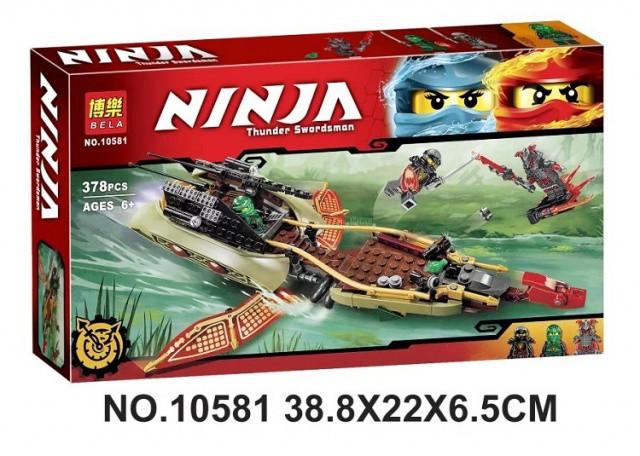 Конструктор Bela 10581 Ninja ниндзя Ninjago ниндзяго Тень судьбы 378 дет