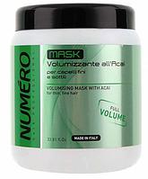 Brelil Numero Volumising Mask Маска для придания обьема с экстрактом асаи 1000 ml