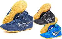 Обувь для борьбы борцовки замшевые Asics 909, 3 цвета: размер 39-44