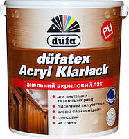 Лак панельний акриловий Dufa Acryl Klarlack 0,75л глянцевий
