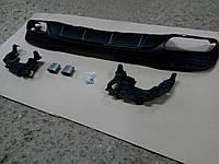 Диффузор заднего бампера Mercedes GLE W166 AMG