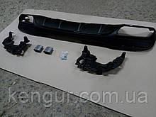 Диффузор заднего бампера Mercedes GLS AMG