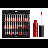 Набор жидких помад NYX Soft Matte Lip Cream Vault (36 in 1)