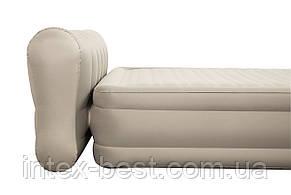 69019 BW Надувная кровать Essence Fortech 229х152х79см со спинкой, встроенный электронасос, фото 2