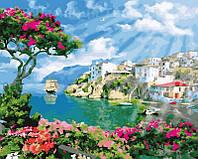 Картина по номерам 40х50 Прибрежный город (GX22330), фото 1