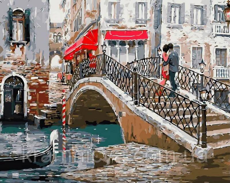 Картина по номерам 40х50 Венецианский мост (GX8363)